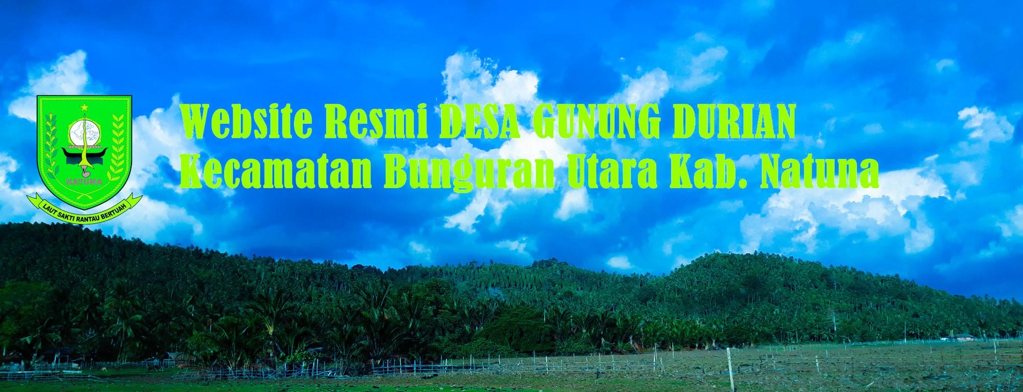 Website Resmi DESA GUNUNG DURIAN - Kab. Natuna